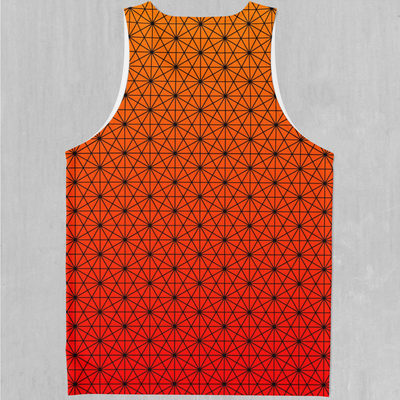 Star Net (Pyro) Men's Tank Top - EDM Rave Festival Street Wear Abstract Apparel
