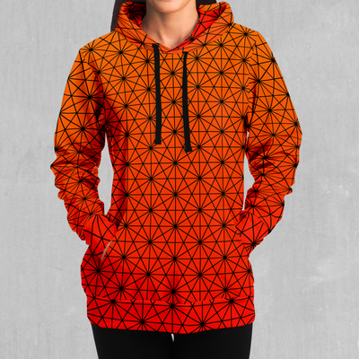Star Net (Pyro) Hoodie - EDM Rave Festival Street Wear Abstract Apparel