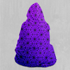 Star Net (Ultraviolet) Hooded Blanket