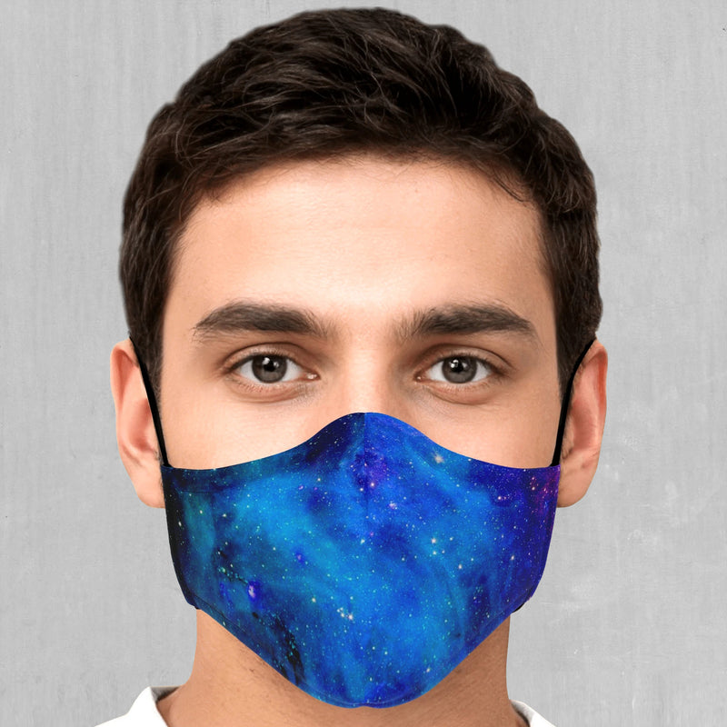 Stardust Face Mask - EDM Rave Festival Street Wear Abstract Apparel