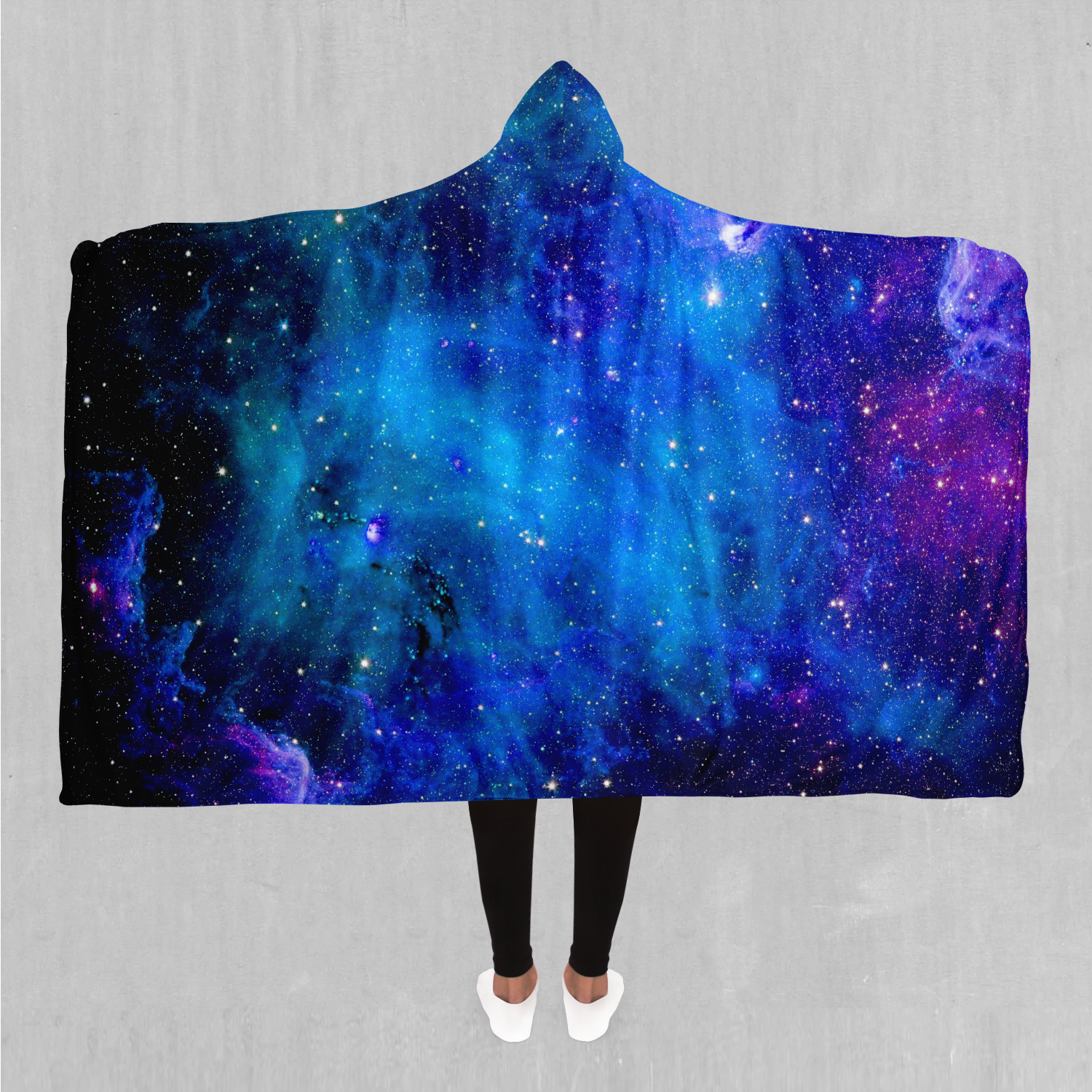 Stardust Hooded Blanket - EDM Rave Festival Street Wear Abstract Apparel