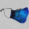 Stardust Face Mask - EDM Rave Street Wear Abstract Apparel