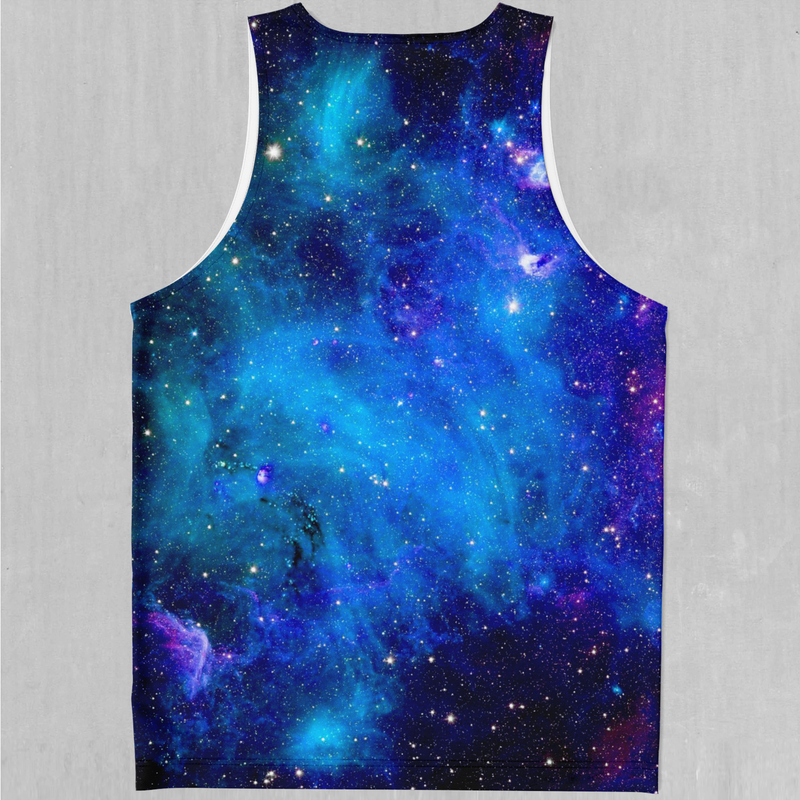 Stardust Men's Tank Top - EDM Rave Festival Street Wear Abstract Apparel