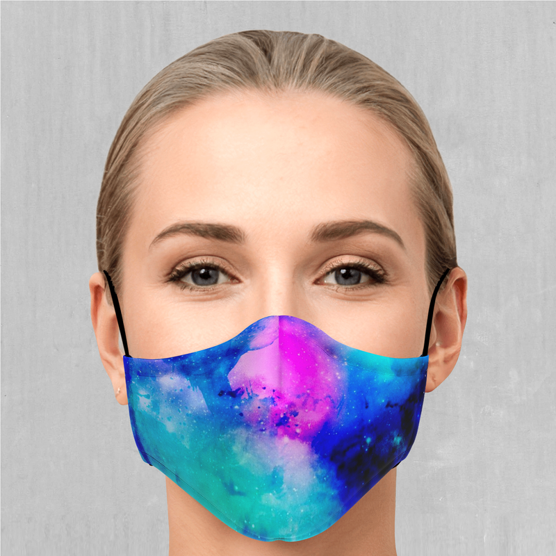 Stellar Skies Face Mask - EDM Rave Festival Street Wear Abstract Apparel