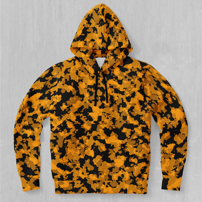 Stinger Yellow Camo Hoodie - EDM Rave Festival Street Wear Abstract Apparel