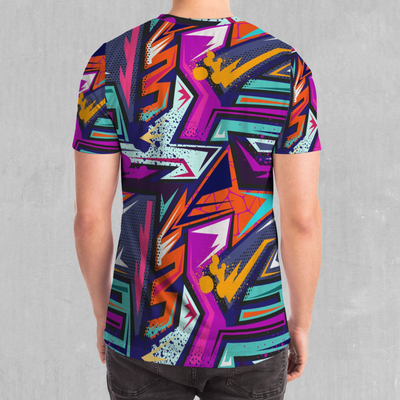 Tectonic Tee - EDM Rave Festival Street Wear Abstract Apparel