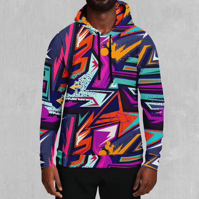 Tectonic Hoodie - EDM Rave Festival Street Wear Abstract Apparel