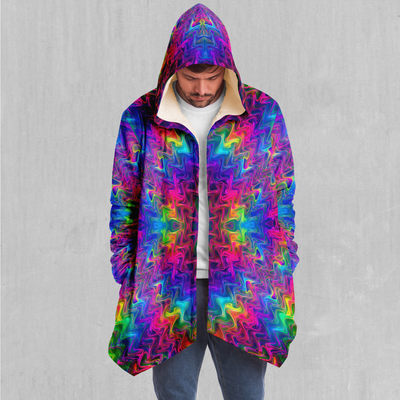Tek Quantum Cloak - EDM Rave Festival Street Wear Abstract Apparel