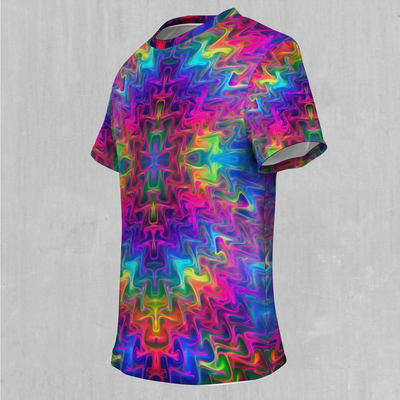 Tek Quantum Tee - EDM Rave Festival Street Wear Abstract Apparel