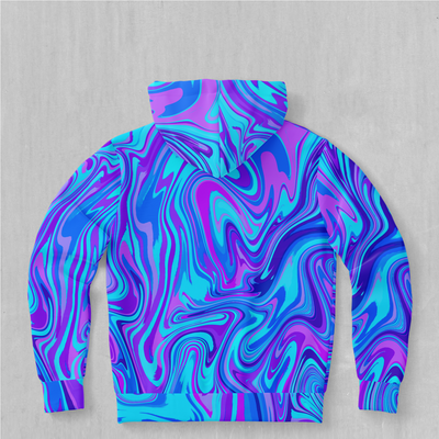 Vapor Drip Hoodie - EDM Rave Festival Street Wear Abstract Apparel