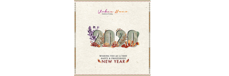 Happy New Year 2020 from Urban Hues