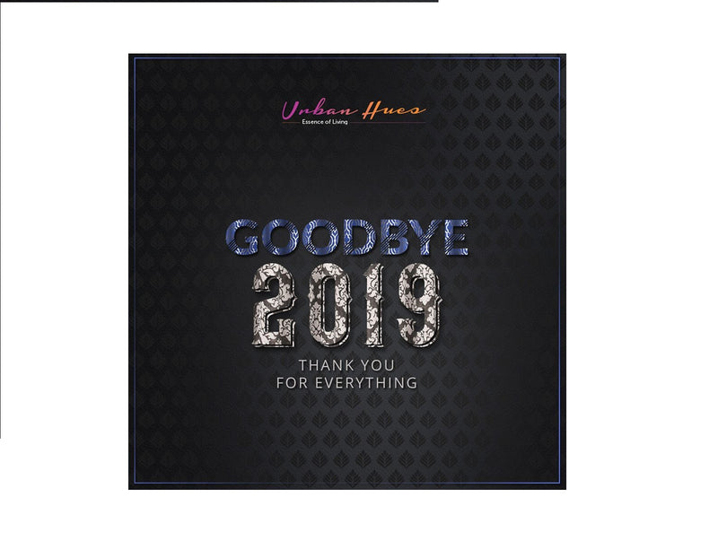 Good Bye 2019-Thanks For Everything