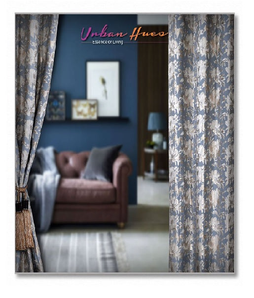 Floral Print Curtains By Urban Hues