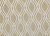 Urban Hues Polyester Jacquard Window, Door Curtains-Golden