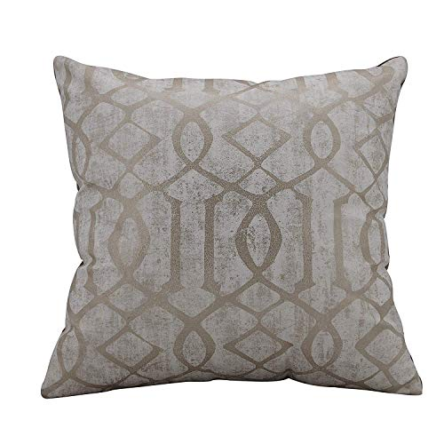 Urban Hues Designer Cushion Cover -1 pc (Beige)