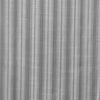 Urban Hues 1 Piece  Window, Door Curtains -(Grey-Strips)