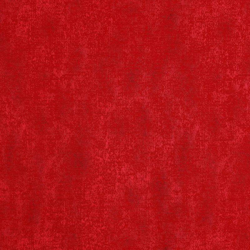 Urban Hues Eyelet Polyester Jacquard Fabric Window, Door Curtain-Red-Distressed