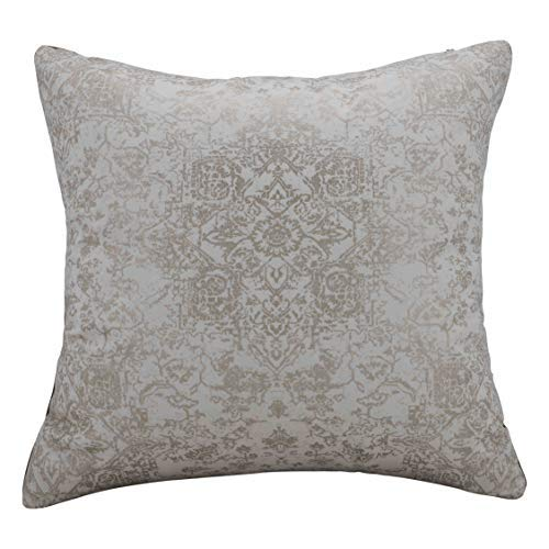 Urban Hues Designer Cushion Cover -1 pc (Cream & Golden)