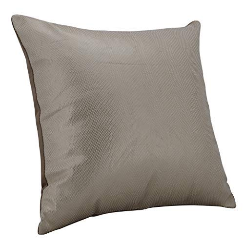 Urban Hues Designer Cushion Cover -1 pc (Golden)