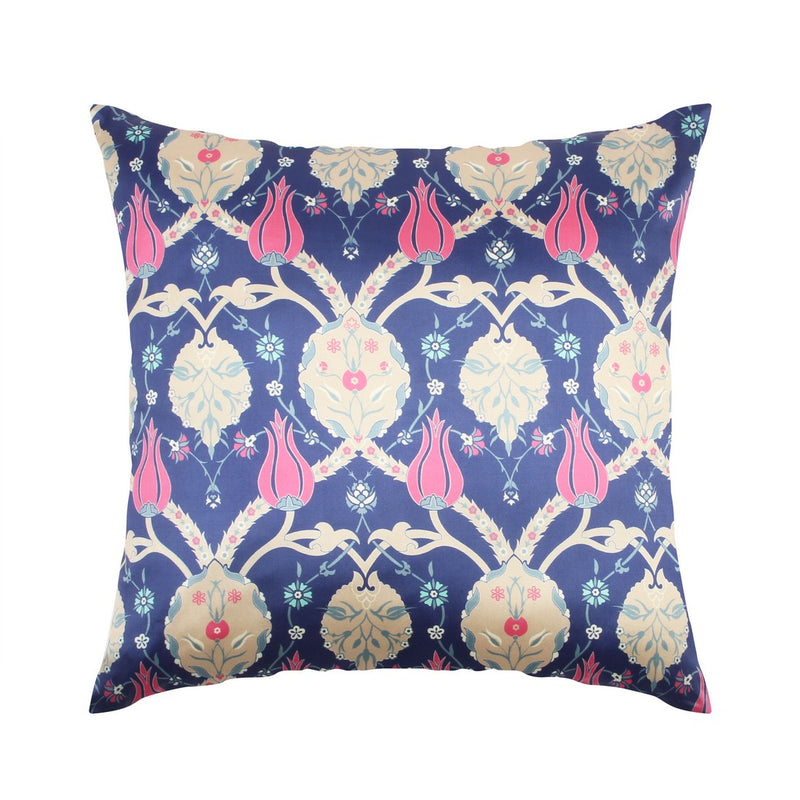 Urban Hues  Polyester Traditional Cushion cover - 1 pc-Blue