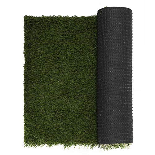 Urban Hues Ultra Luxury Artificial Natural Green Multi Purpose Grass Mats/Doormat 15''x24''