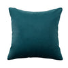 Urban Hues Modern Velvet Cushion Cover Super Soft Pack of 1-(Green-Teal)