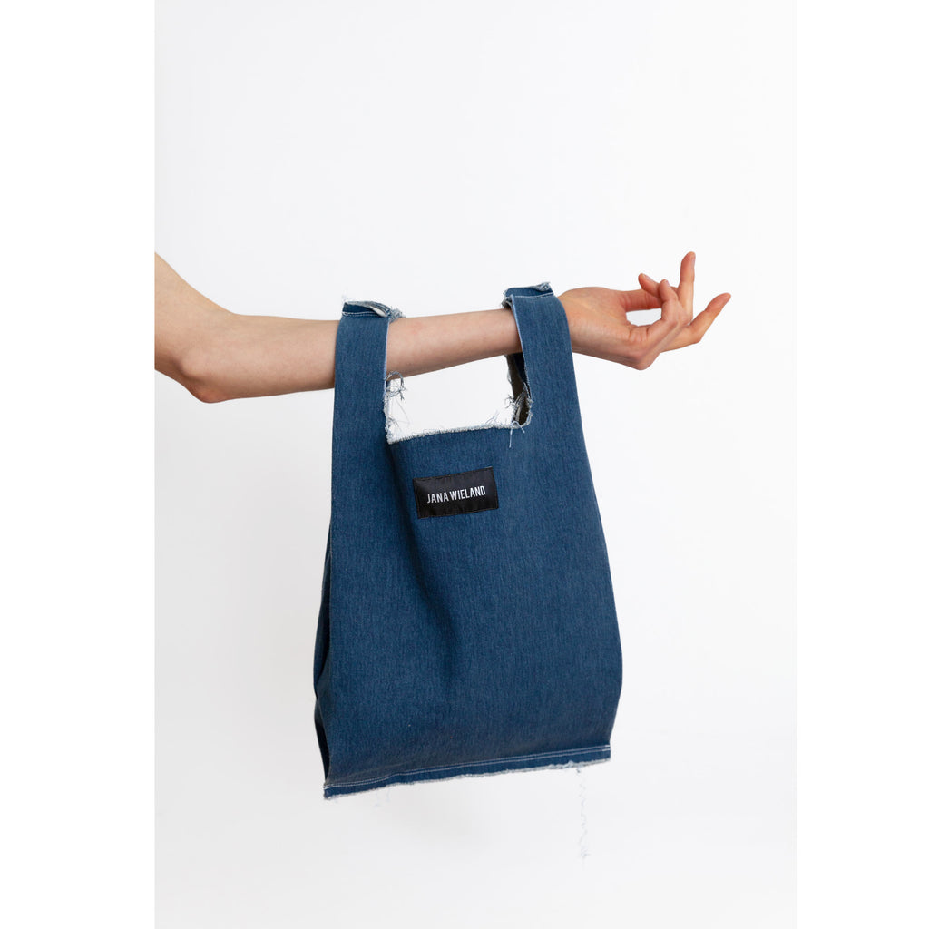 Denim trash & treasure Tote -S-