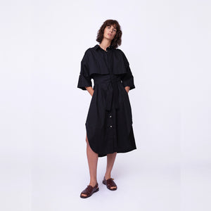 Trench Safari Shirt Dress / safari