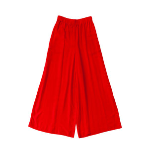 Wide Elastic Pants / lobster