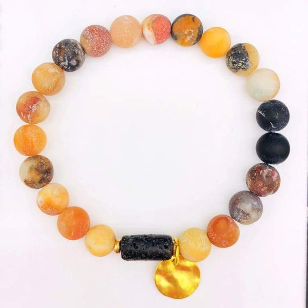 Sun Goddess Lava Stone Essential Oil Bracelet Amazon