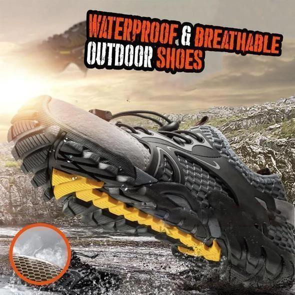 Last Day 81% OFF - Outdoor Hiking Shoes - Super Resistant & Comfortable