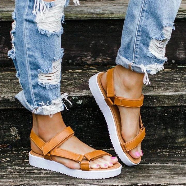 Summer Casual Daily Comfy Magic Tape Sandals