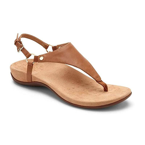 Leather Backstrap Buckle Sandals
