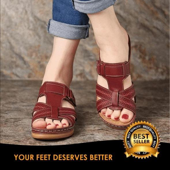 50% OFF - PREMIUM ORTHOPEDIC OPEN TOE SANDALS
