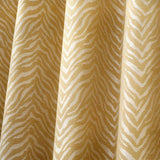 Africa Ready Made Ochre Eyelet Curtains