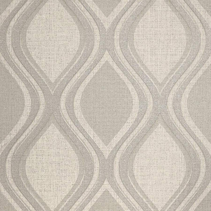 Arthouse Curve Taupe Wallpaper Sample - 295102