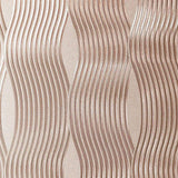 Arthouse Foil Wave Rose Gold Wallpaper Sample - 294500