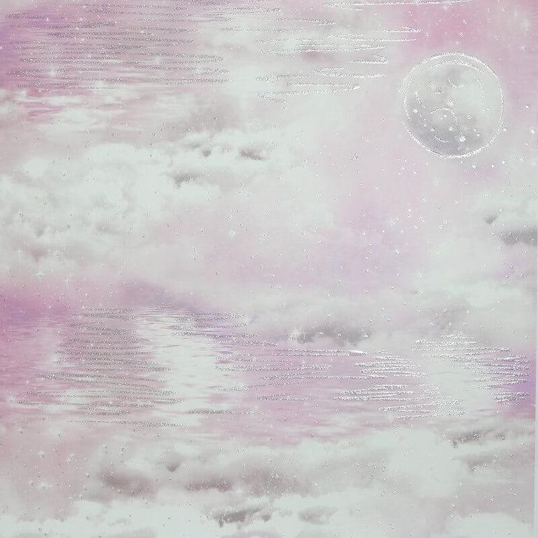 Arthouse Water Skies Pink Glitter Wallpaper - 692501 Arthouse Water Skies Pink Glitter Wallpaper - 692501