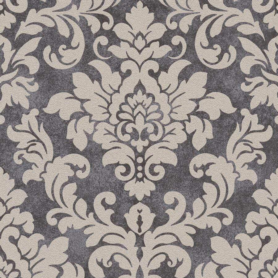 AS Creations Diamonds Damask Beige/Black Wallpaper - 37270-4 AS Creations Diamonds Damask Beige/Black Wallpaper - 37270-4