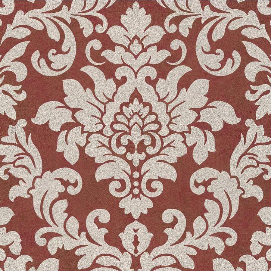 AS Creations Diamonds Damask Beige/Red Wallpaper - 37270-5 AS Creations Diamonds Damask Beige/Red Wallpaper - 37270-5
