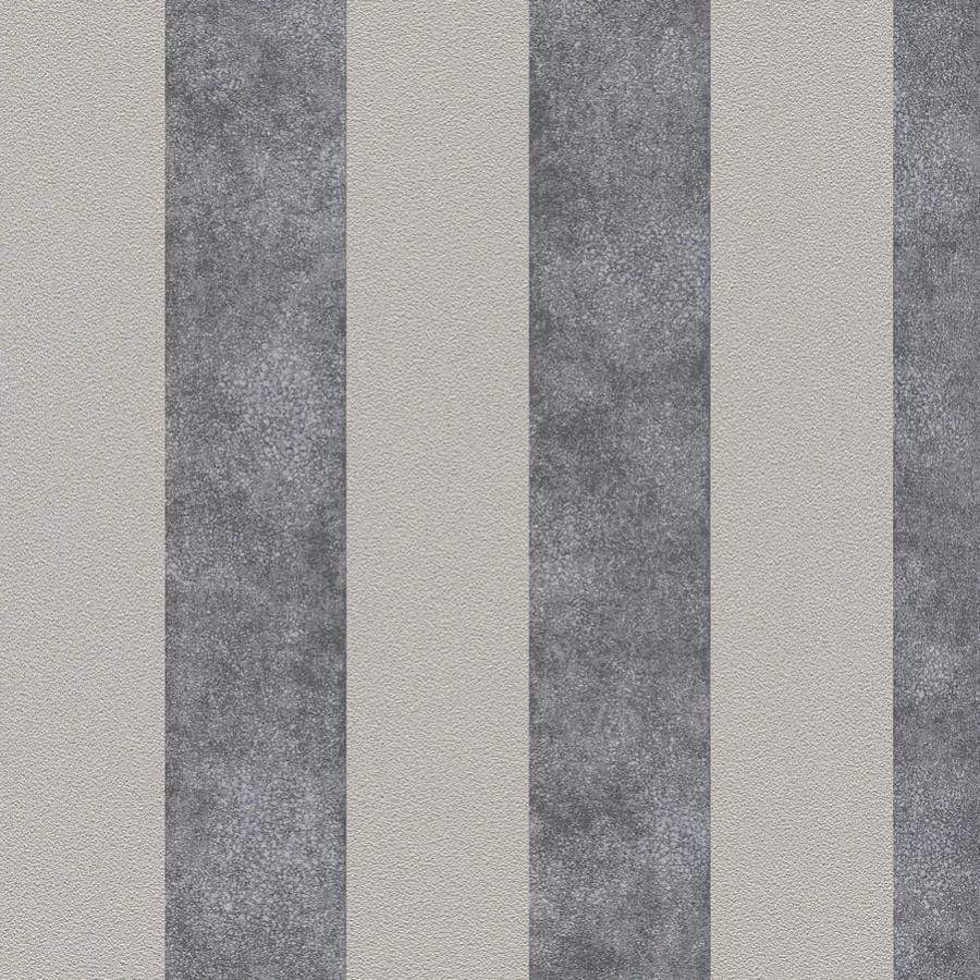 AS Creations Diamonds Stripe Beige/Grey Wallpaper - 37271-1 AS Creations Diamonds Stripe Beige/Grey Wallpaper - 37271-1