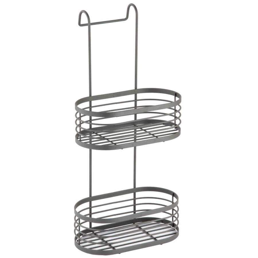 Blue Canyon Grey 2 Tier Over Shower Screen Caddy