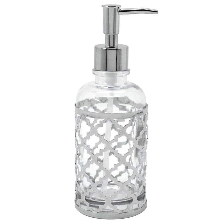 Blue Canyon Morocan Silver Soap Dispenser