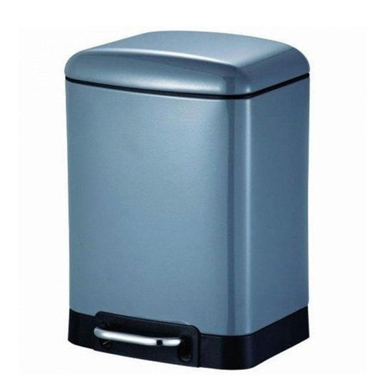 Blue Canyon Oslo Slow Close 6L Pedal Bin White
