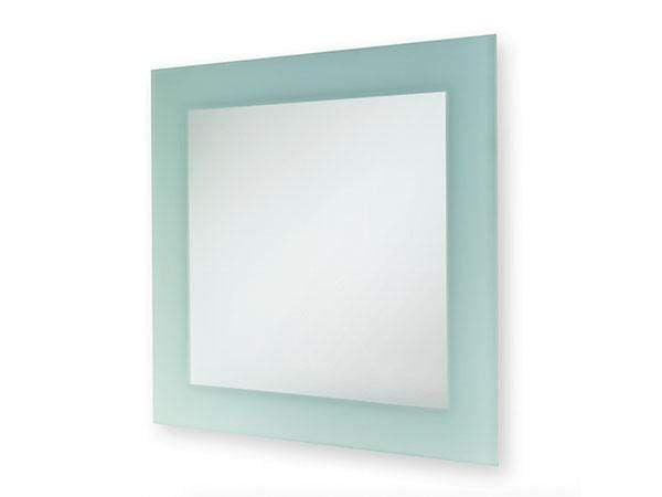 Blue Canyon Square Frosted Mirror