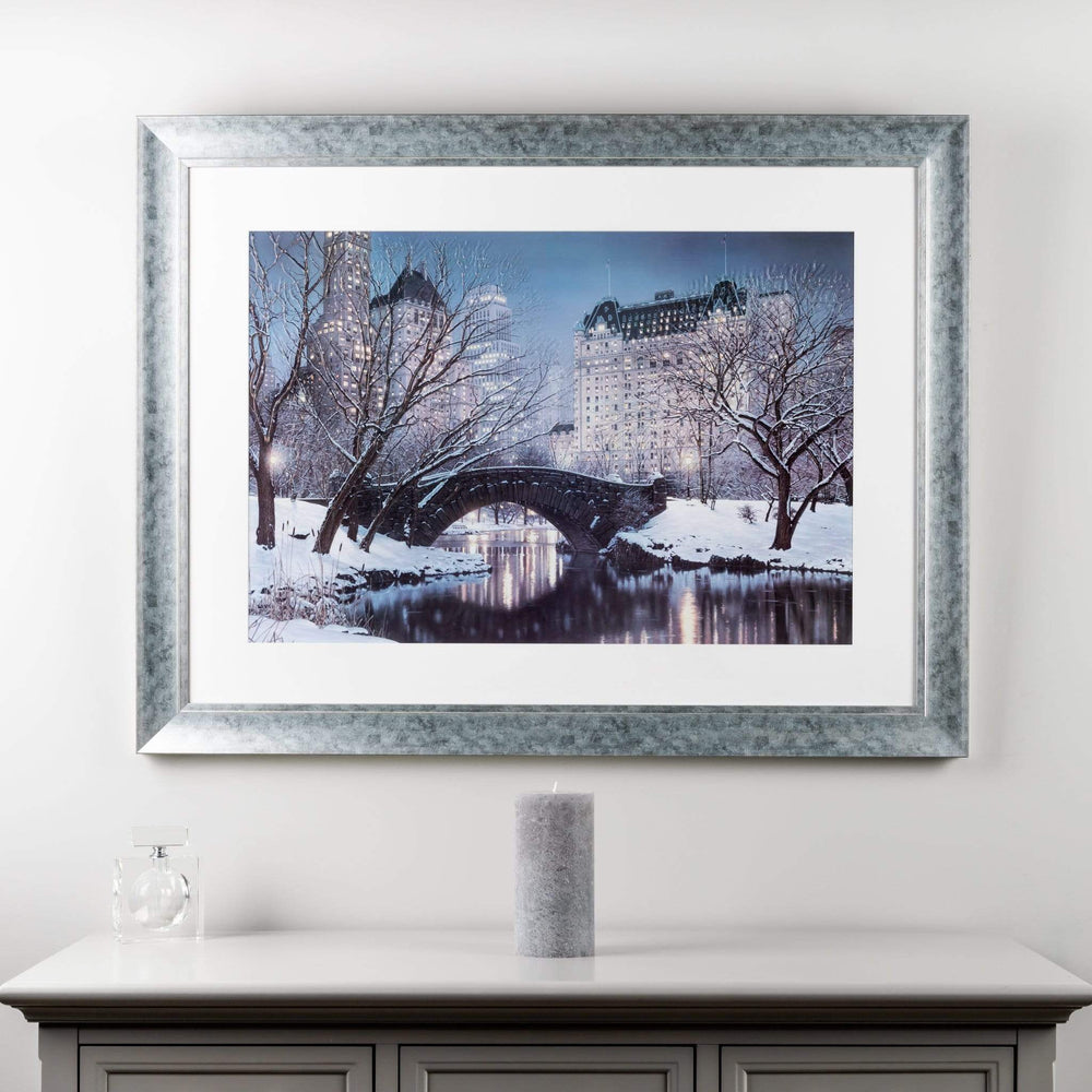 Central Park In Winter 112 x 86cm