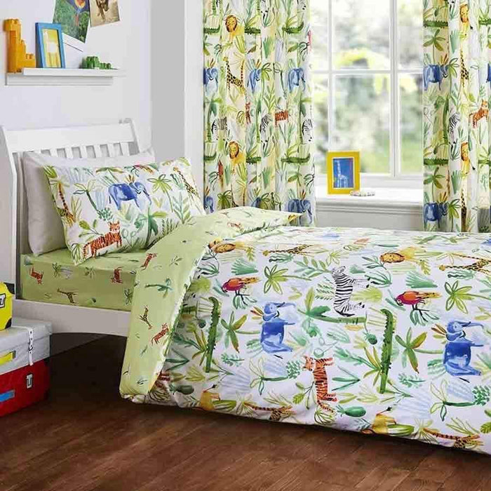 Dreams and Drapes Jungle Bedlam Duvet Set