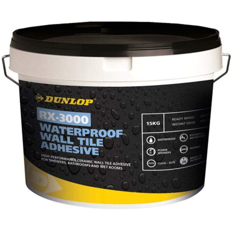 Dunlop Waterproof Wall Tile Adhesive 5KG