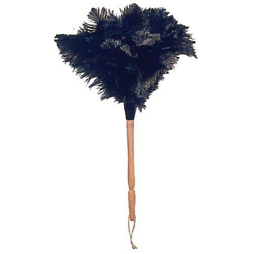 Eddingtons Ostrich Feather Duster EDD OSTRICH FEATHER DUSTER BEECH HNDL