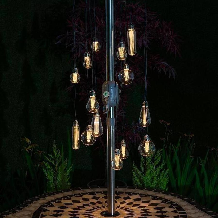Edison Style Chandelier String Lights
